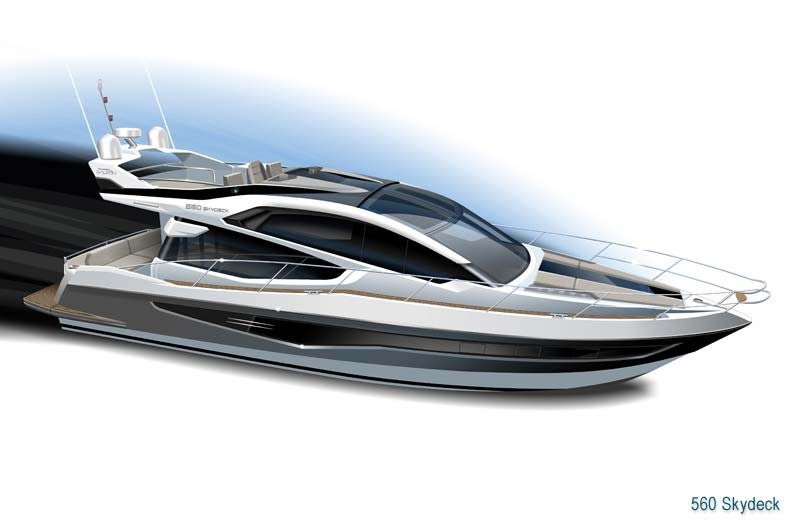 Galeon 560 Skydeck Preview 1