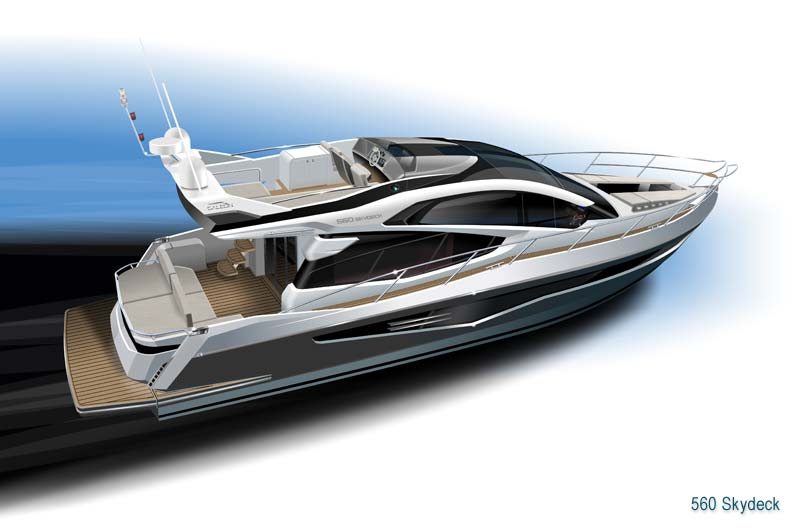 Galeon 560 Skydeck Preview 3