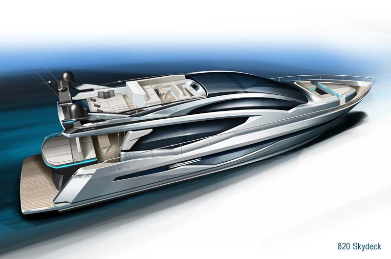 Galeon 820 Skydeck Preview 1