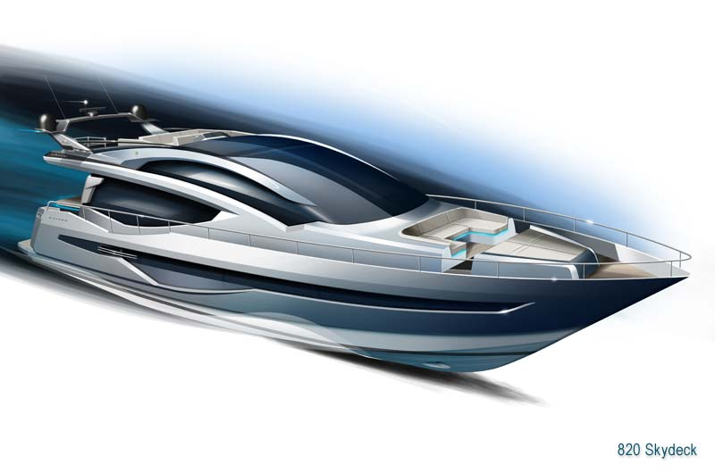 Galeon 820 Skydeck Preview 2