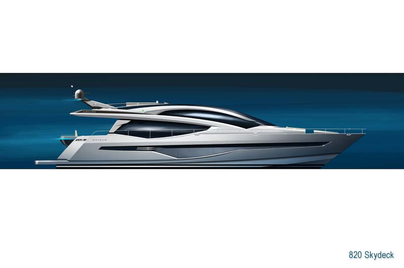 Galeon 820 Skydeck Preview 3
