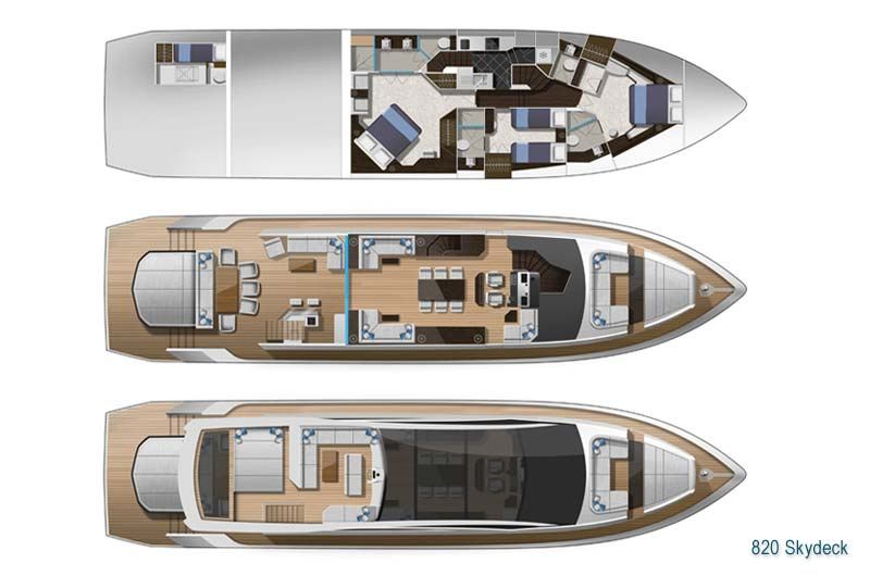 Galeon 820 Skydeck Preview 4