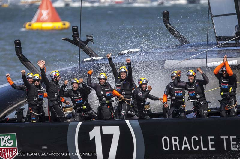 34. Americas Cup Oracle Team USA Gewinner