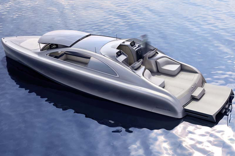 Futuristische luxusyachten  Mercedes-Benz Luxusyacht