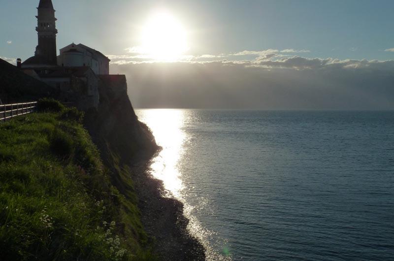 Mittelmeer Quiz - Küste Slowenien, Piran