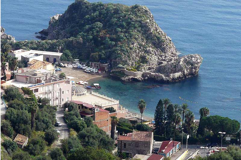 Mittelmeer Quiz - Küste Italien, Taormina