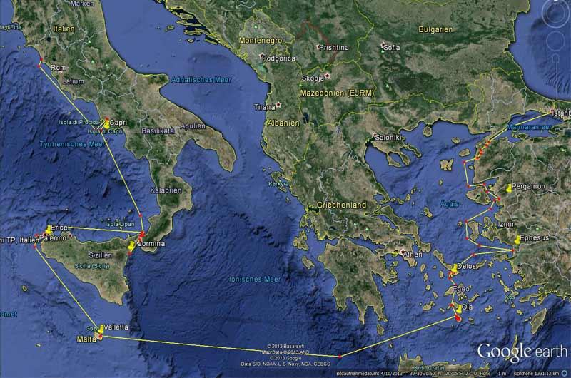 Kreuzfahrt Istanbul Rom Bild-01