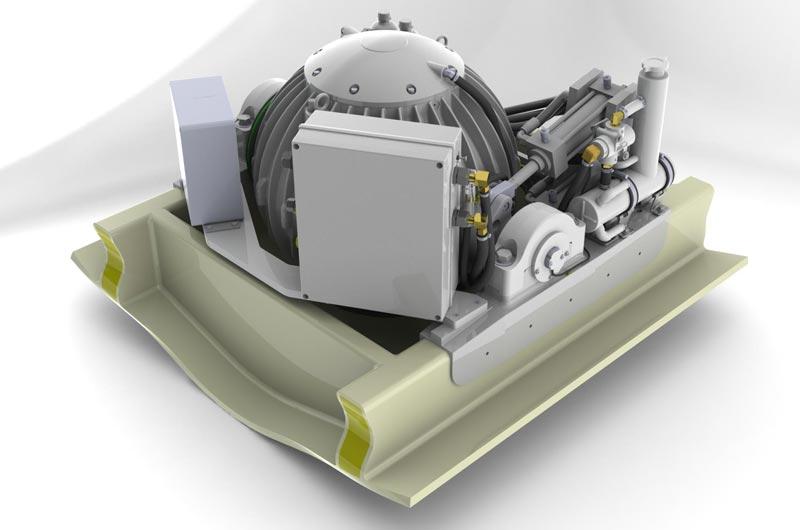 Stabilisator Gyro für Boote und Yachten Image-01