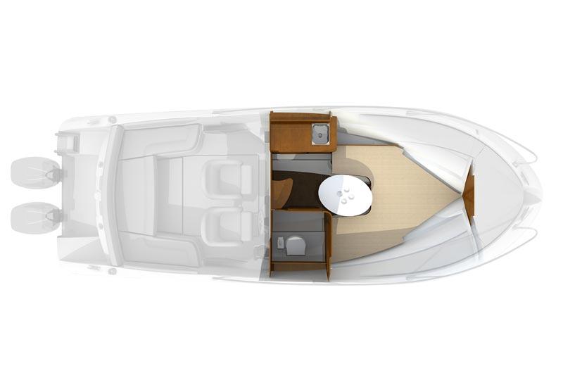 Beneteau Flyer 750 Sun Deck Bild-12