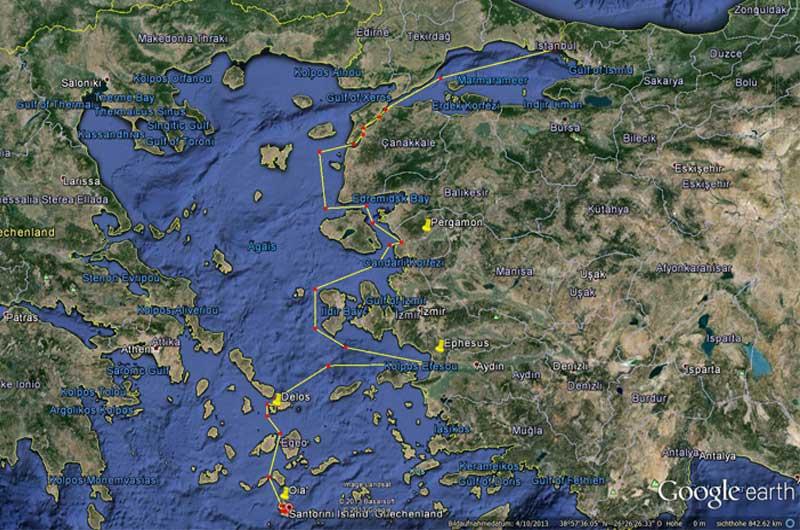 Kreuzfahrt Mykonos Malta Foto 26