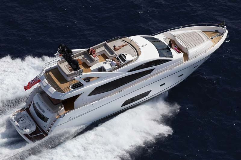 Sunseeker Manhatten 78 boot 2014 Bild-05