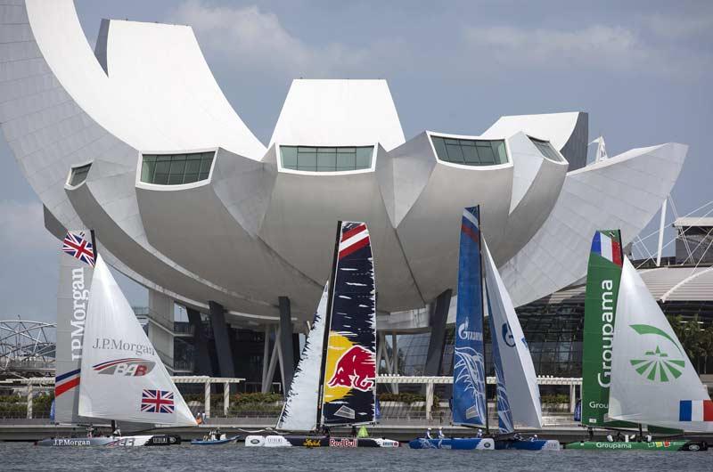 Extreme Sailing World Series 2014 Singapore Bild-01