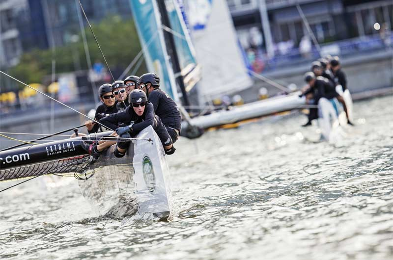 Extreme Sailing World Series 2014 Singapore Bild-02