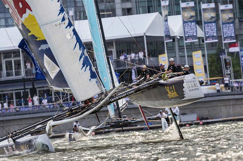 Extreme Sailing World Series 2014 Singapore Bild-03