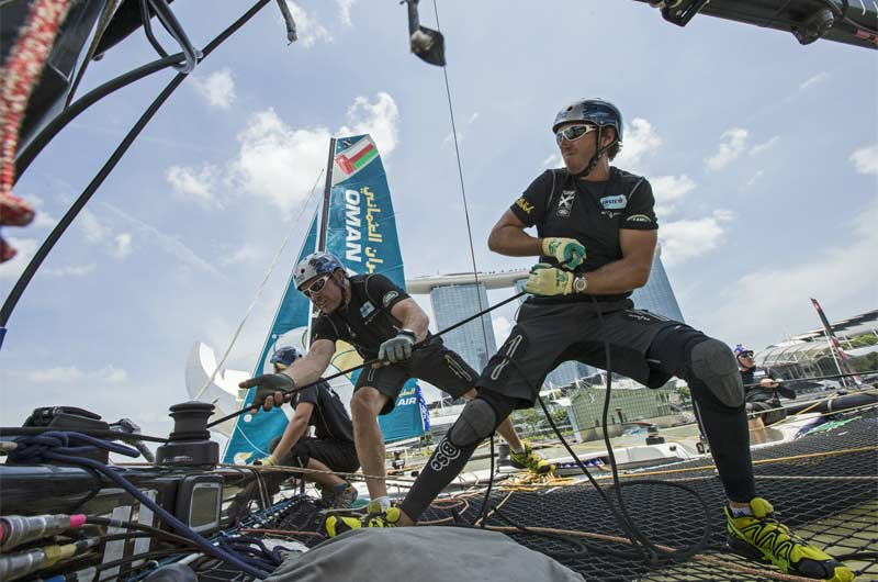 Extreme Sailing World Series 2014 Singapore Bild-06
