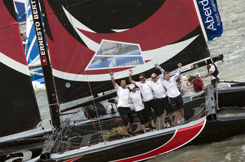 Extreme Sailing World Series 2014 Singapore Bild-09