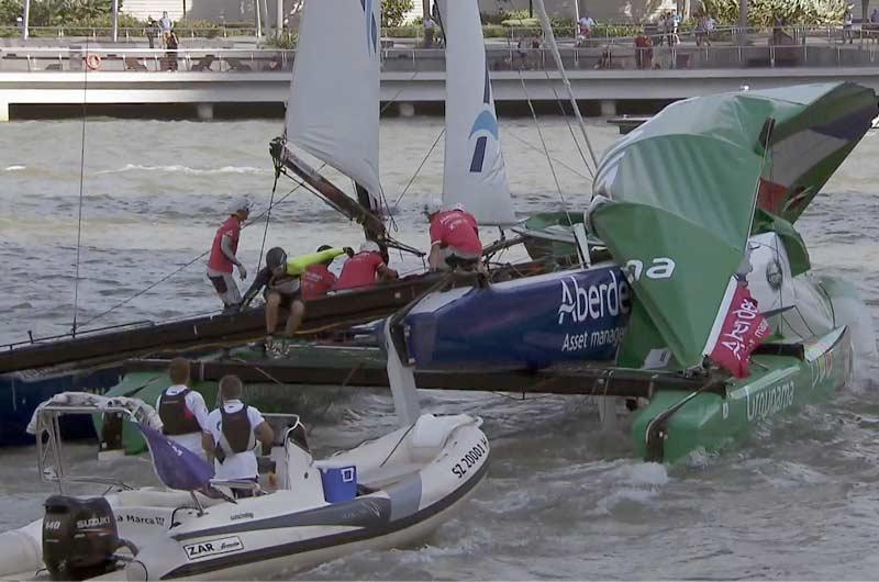 Extreme Sailing World Series 2014 Singapore Bild-12