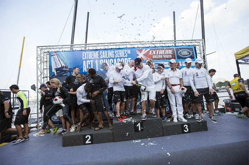 Extreme Sailing World Series 2014 Singapore Bild-15