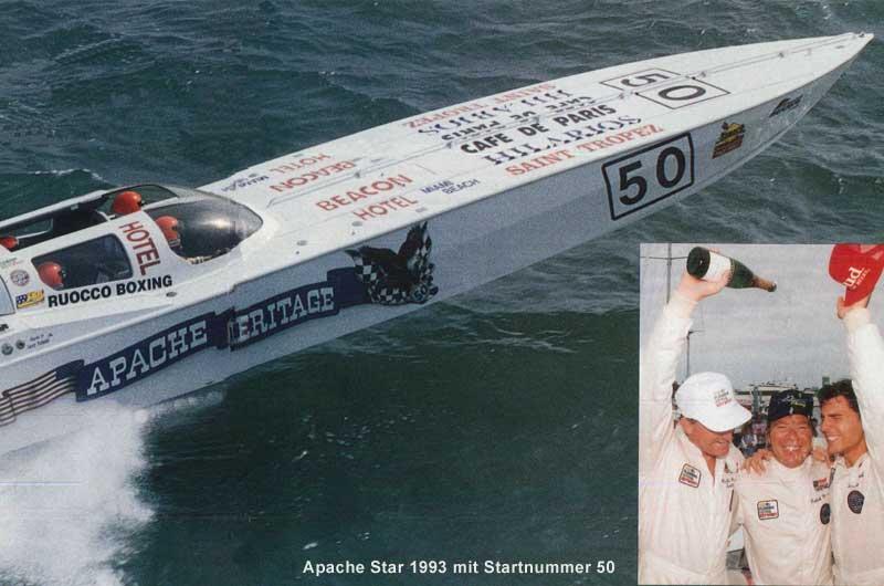 Roger Klüh - Speedboot Apache Star 15