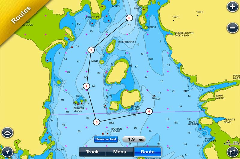 Bootsnavigation App Navionics Boating