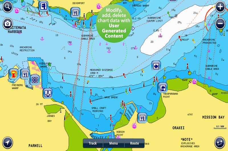 Bootsnavigation App Navionics Boating Europe