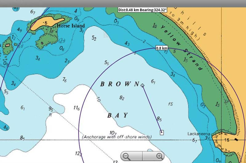 Bootsnavigation App Marine Navigation