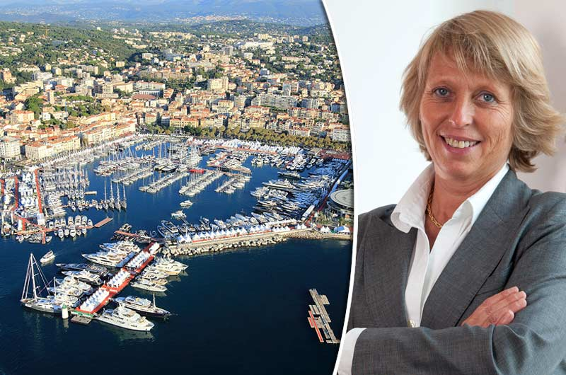Cannes Yachting Festival Sylvie Ernoult