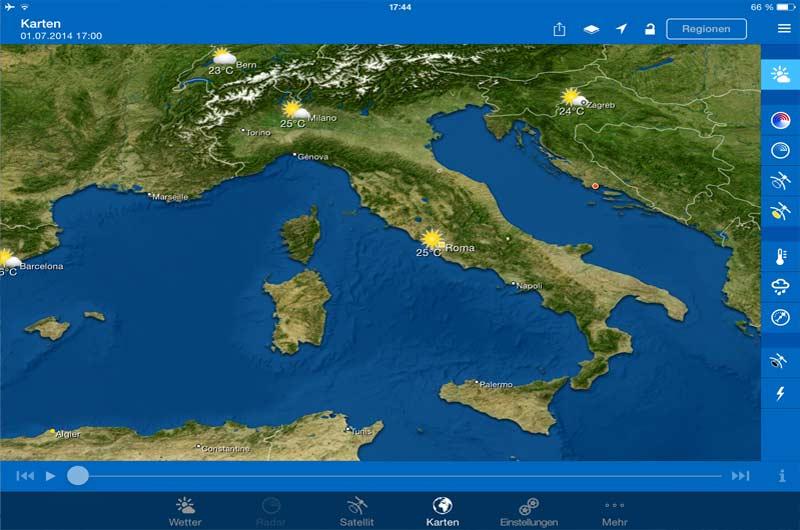 Wetter Apps Seewetter für Bootsfahrer 03