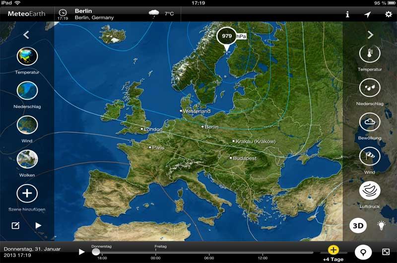 Wetter Apps Seewetter für Bootsfahrer 06
