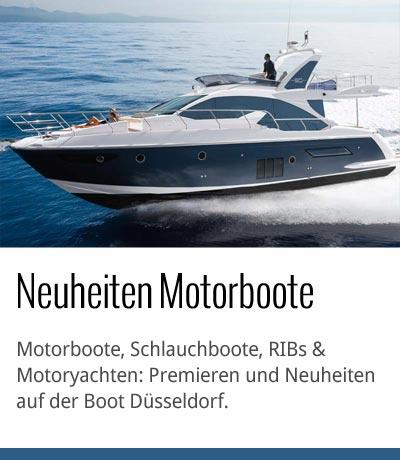 Motorboot Neuheiten Boot Düsseldorf 2015