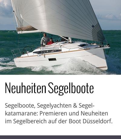 Segelboot Neuheiten Boot Düsseldorf 2015