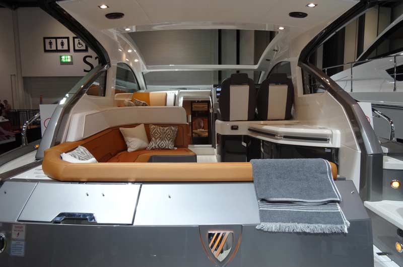 Fairline Shadow S London Boat Show Image-07