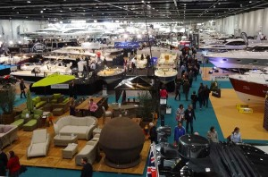 Bilder der London Boat Show 2015