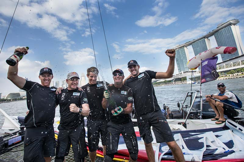 Extreme Sailing 2015 Singapur Red Bull - 01