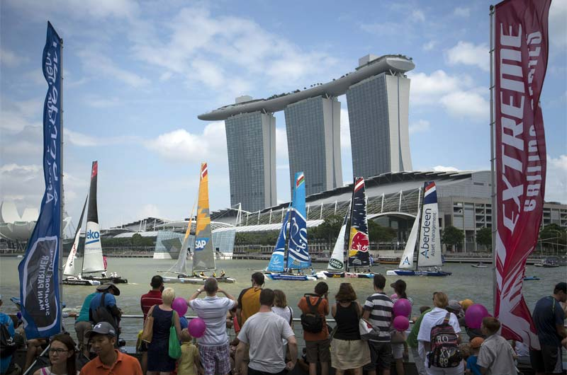 Extreme Sailing 2015 Singapur Red Bull - 03