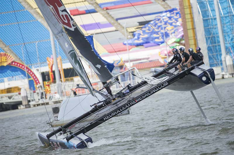 Extreme Sailing 2015 Singapur Red Bull - 04