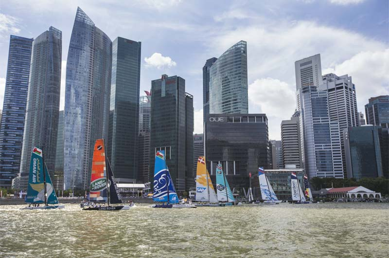 Extreme Sailing 2015 Singapur Red Bull - 05