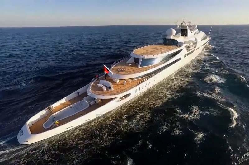 Superyachten innen  Superyacht YAS (Abu Dhabi) in Marbella | Boot Online