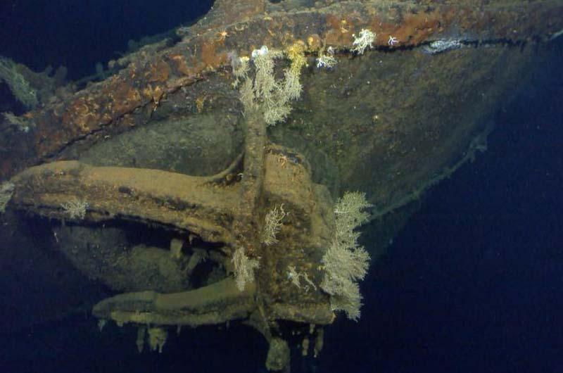 Paul Allen Expedition Schlachtschiff Musashi Bild-02
