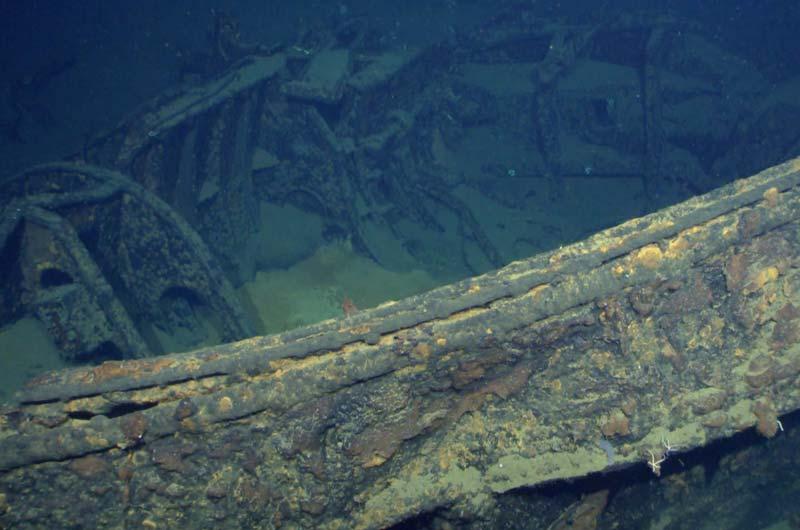 Paul Allen Expedition Schlachtschiff Musashi Bild-04