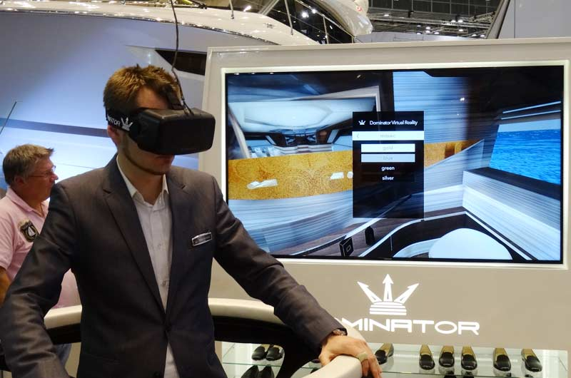 Dominator Yachts Virtual Reality Technologie Bild-02
