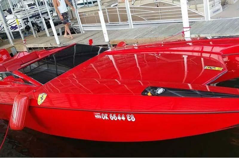 Ferrari Speedboot Bild-03