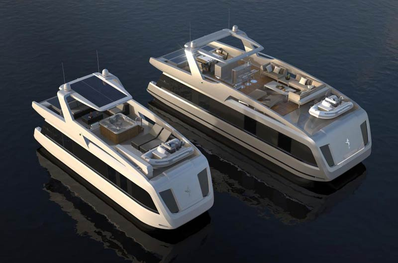 Life on Water: Overblue 44 der Italenischen Werft Overblue
