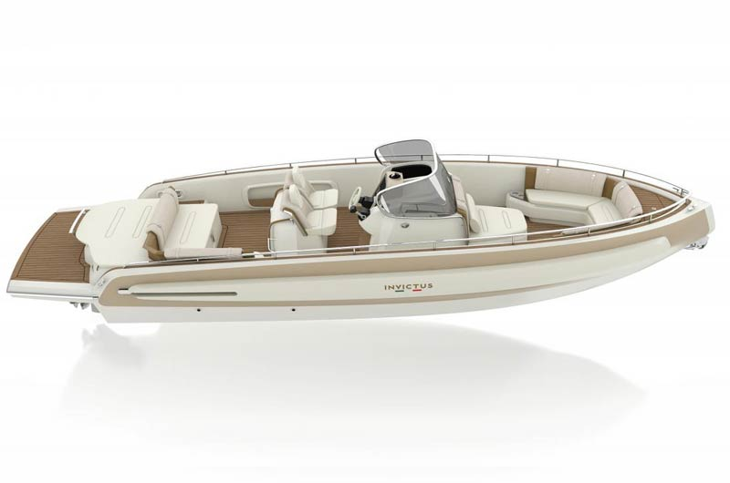 280 TT von Invictus Yacht