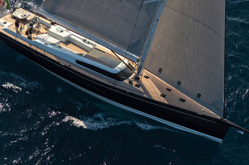 Advanced A80 der italentischen Werft Advanced Yachts
