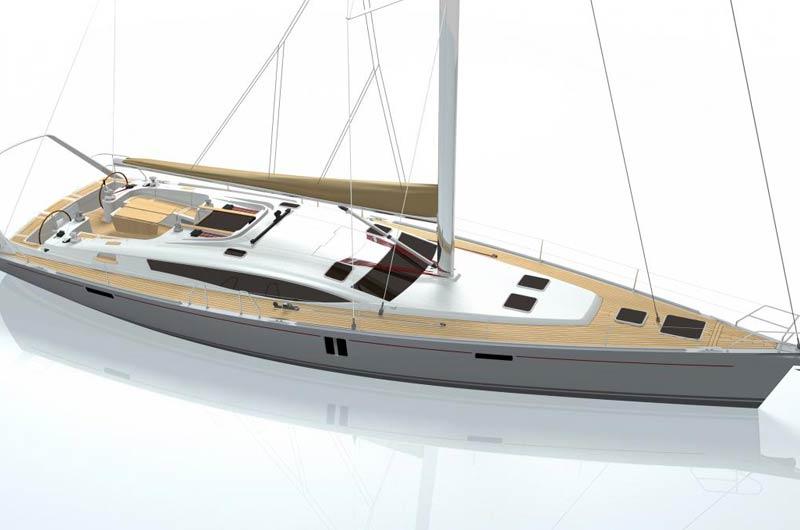 Allures 52 des frnazösischen Herstellers Allures Yacht