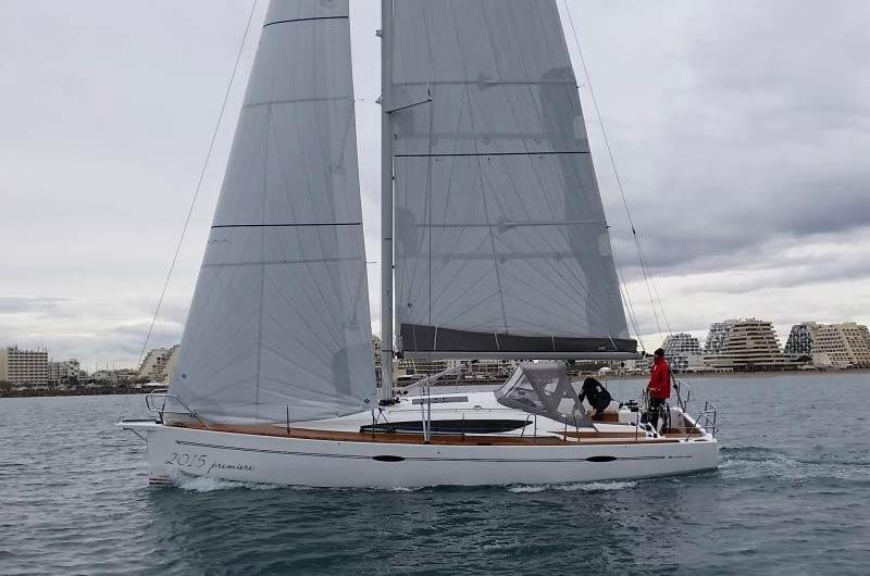 Maxi 1200 der Schwedischen Werft Maxi Yachts