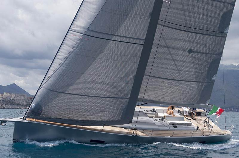 Mylius 60 des italenischen Herstellers Mylius Yachts