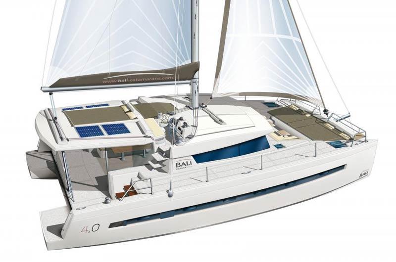 Bali 4.0 der französischen Werft Bali Catamarans