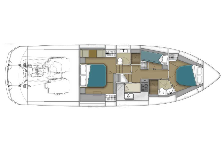 Filippetti S53 Filippetti Yacht Bild-06